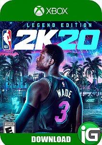 NBA 2K20 - Edição Legend - Xbox One