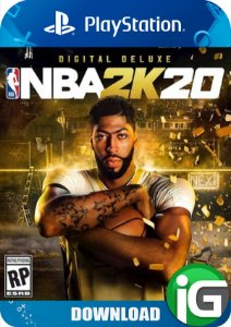 NBA 2K20 - Edição Digital Deluxe - PS4