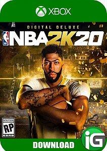 NBA 2K20 - Edição Digital Deluxe - Xbox One
