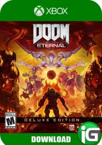 Doom Eternal - Edição Deluxe - Xbox One