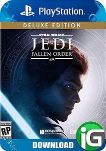 Star Wars Jedi: Fallen Order - Edição Deluxe - PS4