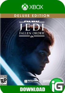 Star Wars Jedi: Fallen Order - Edição Deluxe - Xbox One