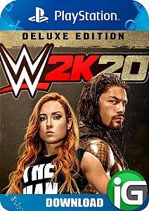WWE 2K20 - Edição Deluxe - PS4