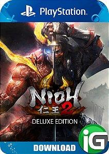 Nioh 2 - Edição Deluxe - PS4