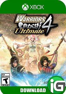 WARRIORS OROCHI 4 Ultimate with Bonus - Xbox One