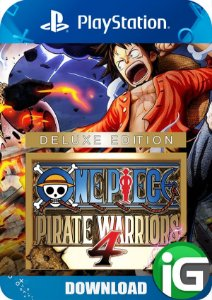 One Piece: Pirate Warriors 4 - Edição Deluxe - PS4