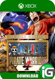 One Piece: Pirate Warriors 4 - Edição Deluxe - Xbox One