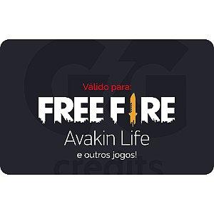 Pré-Pago Garena Free Fire - R$ 20 (Leia a Descrição!)