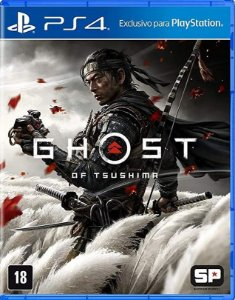 Ghost Of Tsushima PS4 Mídia Física