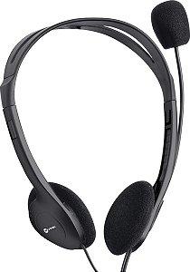 Fone Headset PC HM10 Com Microfot Preto Viniki