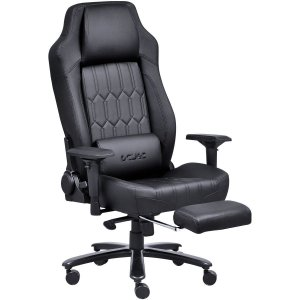 Cadeira Gamer Mad Racer V16 Preta Em Material Sintético - Pcyes