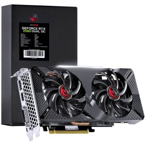 Black Box - Placa de Vídeo NVIDIA RTX 2060 Dual OC GDDR6 6GB 192 Bits - PP2060DOC1926G6
