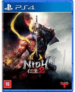 Nioh 2 PS4 - Mídia Física