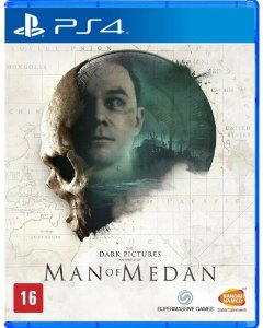The Dark Pictures Man Of Medan PS4 - Mídia Física