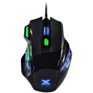 Mouse Gamer VX Gaming Black Widow 2400 USB GM106