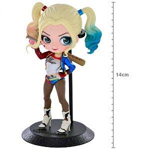 Figure Arlequina Harley Quinn Q Posket