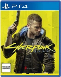 Cyberpunk 2077 - PS4 - Mídia Física