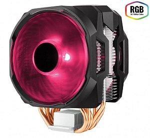 Cooler para processador Masterair MA610P RGB e Controlador