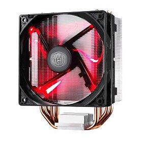 Cooler para Processador Hyper 212 LED Vermelho
