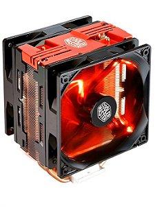 Cooler para Processador Hyper 212 Turbo com LED Vermelho