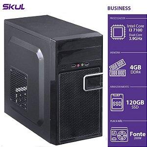 Computador Business B300 I3 7100 3.9GHZ 4GB DDR4 SSD 120GB