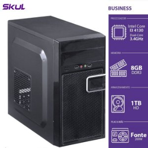 Computador Business B300  I34130 3.4GHZ 8GB DDR3 HD 1TB