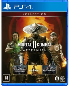 Mortal Kombat 11 Aftermath PS4  Mídia Física