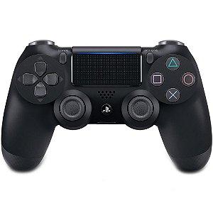Controle Sem Fio Dualshock 4 Sony Preto PS4