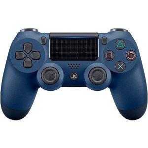 Controle sem Fio DualShock 4 Sony Azul PS4