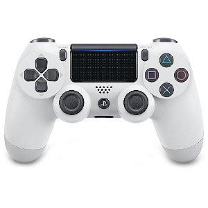 Controle sem Fio DualShock 4 Sony Branco PS4