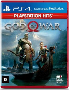 God Of War Playstation Hits PS4  Mídia Física