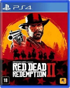 Red Dead Redemption II PS4 Mídia Física