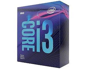 Processador Intel Core i3-9100F 3.60GHz 6MB FCLGA1151 (BX80684I39100F)