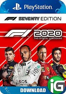F1 2020 - Seventy Edition - PS4
