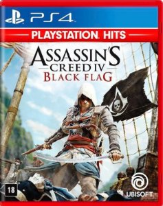 Assassins Creed 4 Black Flag PS4 - Mídia Física