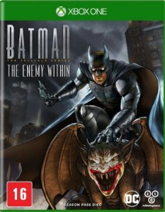 Batman The Enemy Within 2 Temporada Xbox One - Mídia Física