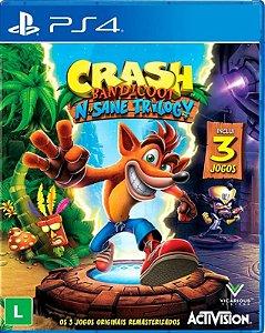 Crash Bandicoot N Sane Trilogy PS4 - Mídia Física