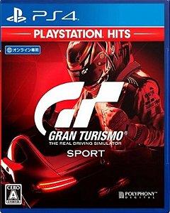 Gran Turismo Sport Hits PS4  Mídia Física