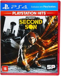 Infamous Second Son Hits PS4 Mídia Física