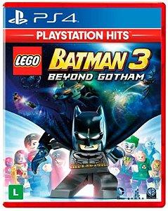 Lego Batman 3 Hits PS4 - Mídia Física