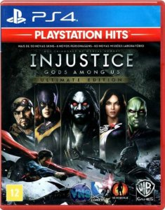 Injustice Goty Hits PS4 Mídia Física