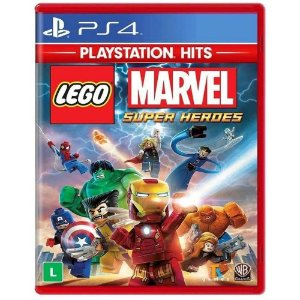 Lego Marvel Super Heroes  PS4 Mídia Física