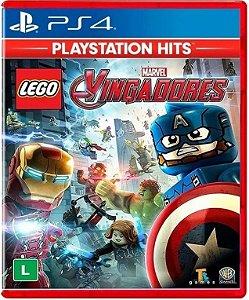 Lego Marvel Vingadores Hits PS4 - Mídia Física