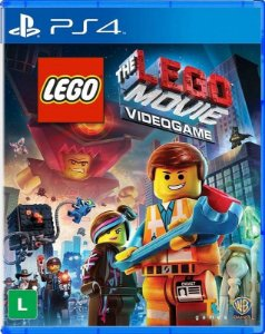 Lego Movie PS4 Mídia Física