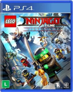 Lego Ninjago Movie Game PS4 - Mídia Física