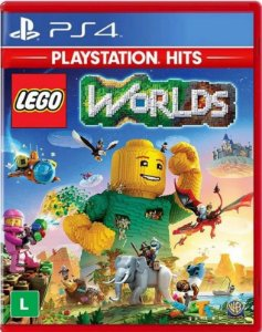 Lego Worlds Hits PS4 Mídia Física