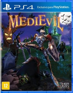 Medievil PS4 - Mídia Física