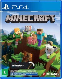 Minecraft Starter Collection PS4 - Mídia Física