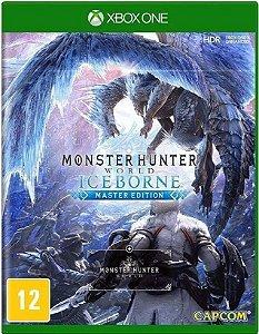Monster Hunter Iceborne Xbox One Mídia Física