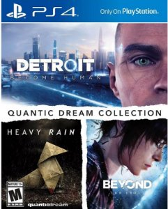 Quantic Dream Collection PS4 - Mídia Física